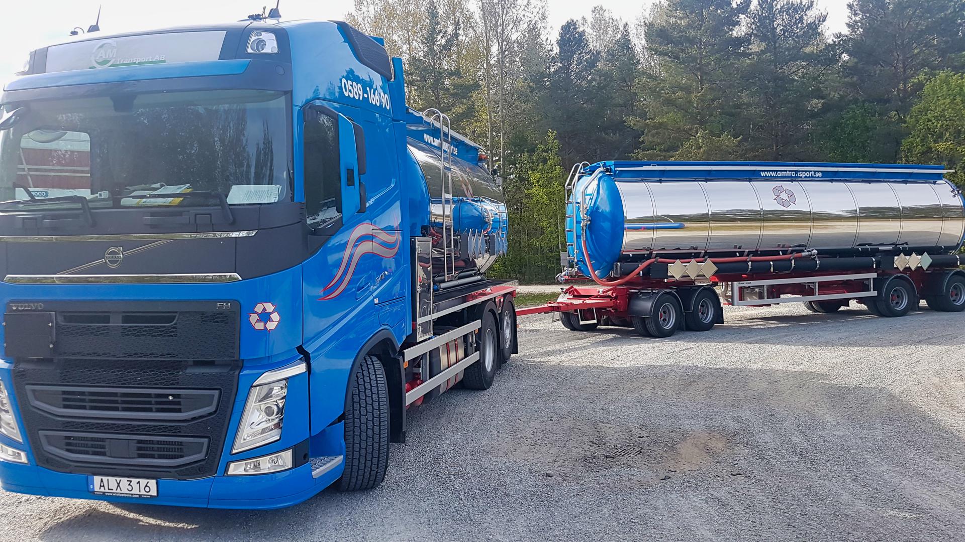 Transport av industriavfall, farligt avfall och styckegods i hela Sverige och Norden